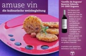 Pastinaken in der Nusskruste an Rotwein-Rosmarinreduktion – chirivía en crosta de frutos secos
