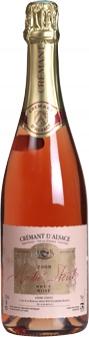 Crémant Rosé d´Alsace AOC 2015 Stentz  (im 6er Karton)