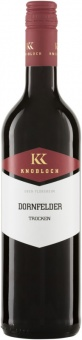 Dornfelder Gutswein trocken QW 2017 Knobloch (im 6er Karton)