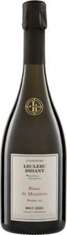 Champagne Brut Zéro Blanc de Meuniers Leclerc Briant