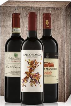 Weingeschenk Toskana Bio