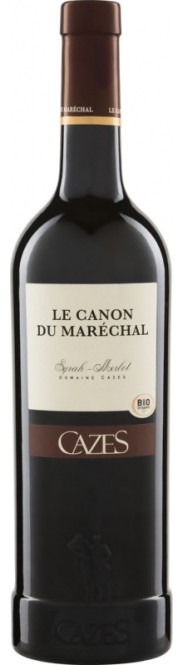 Syrah-Grenache Canon du Maréchal IGP 2019 Domaine Cazes (im 6er Karton)