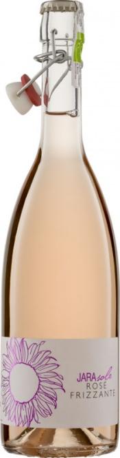 Rosé Frizzante Jarasole Bügelverschluss IGT La Jara (im 6er Karton)
