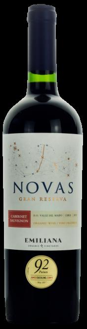 Novas Carménère-Cabernet Sauvignon Gran Reserva 2018 Emiliana (im 6er Karton)