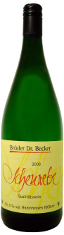 Dr. Becker Scheurebe lieblich QbA 2016 1 Liter (im 6er Karton)