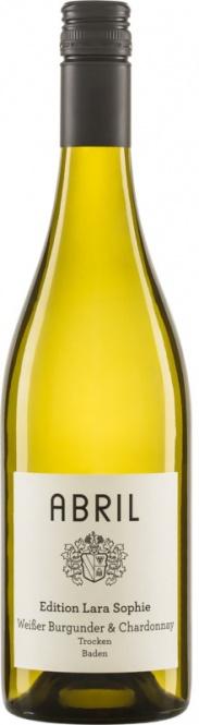 Weißburgunder & Chardonnay Edition LARA-SOPHIE QW 2019 Abril (im 6er Karton)