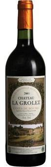 Château La Grolet Côtes de Bourg Rouge AOC 2015 (im 6er Karton)