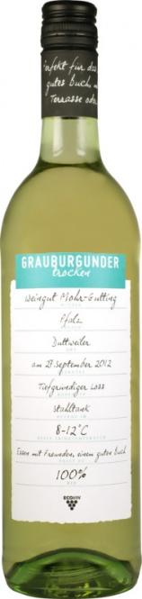 Grauburgunder Pfalz ECOVIN QW 2019 Mohr-Gutting (im 6er Karton)