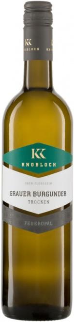 Grauer Burgunder Feueropal QW 2018 Knobloch (im 6er Karton)