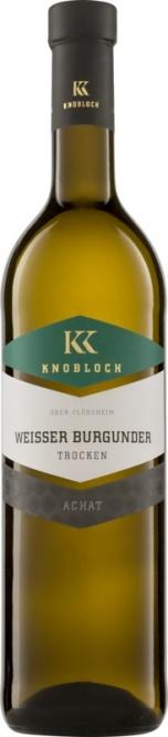 Weißburgunder Achat QW 2018 Knobloch (im 6er Karton)
