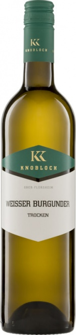 Weißburgunder Gutswein QW 2018 Knobloch (im 6er Karton)