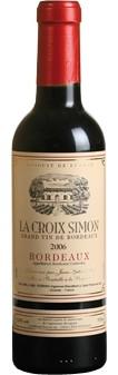 La Croix Simon Bordeaux Rouge AOP 2018 0,375l (im 6er Karton)