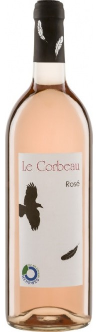 LE CORBEAU Rosé IGP 2018 1l (im 6er Karton)