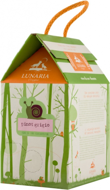 Pinot Grigio IGP 2019 Lunaria Bag in Box