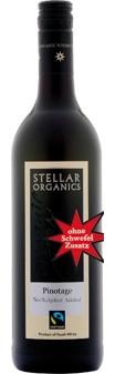 Pinotage 2019 Stellar Organics ohne SO2-Zusatz (im 6er Karton)
