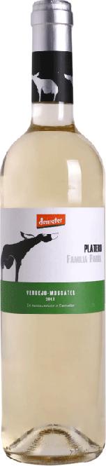 Platero Verdejo-Moscatel Demeter DO 2017 Irjimpa (im 6er Karton)