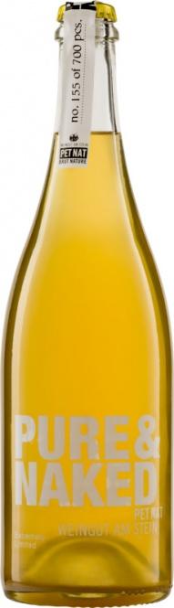 PURE&NAKED PetNat Brut nature Weingut am Stein