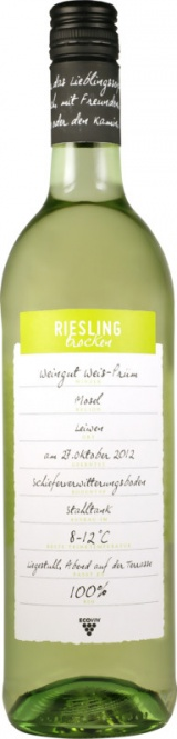 Riesling Mosel ECOVIN QW 2018 Weis-Prüm (im 6er Karton)