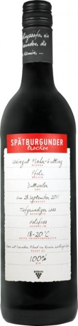 Spätburgunder Pfalz ECOVIN QW 2016 Mohr-Gutting (im 6er Karton)