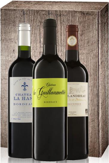 Weingeschenk Bordeaux Bio