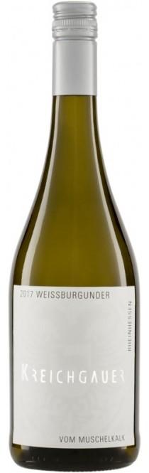 Weißer Burgunder Vom Muschelkalk QbA 2018 Kreichgauer (im 6er Karton)