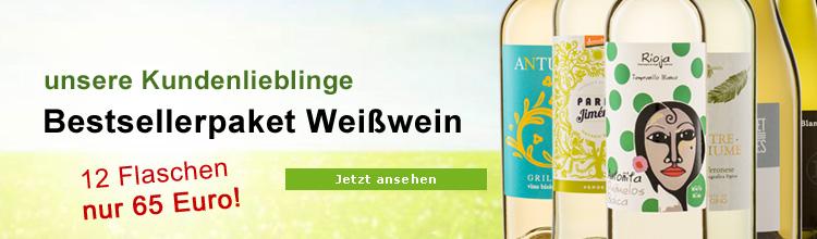 Biowein Bestseller Weisswein