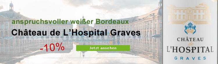 Biowein Château de L'Hospital Graves Blanc AOC