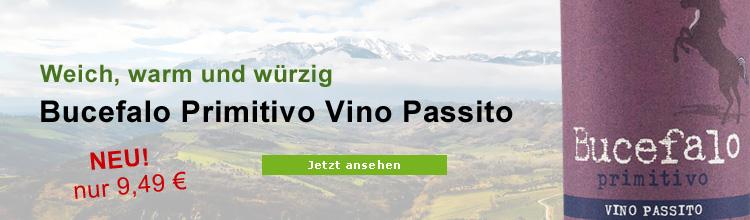Biowein Bucefalo Primitivo Vino Passito Terre di Chieti Lunaria