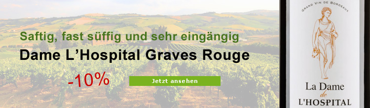 Biowein Dame de L'Hospital Graves Rouge