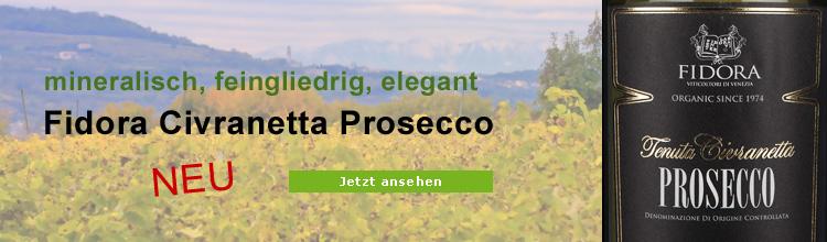 Biowein Fidora Prosecco