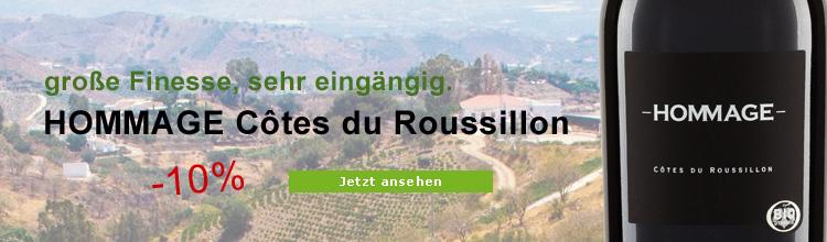 Biowein HOMMAGE Côtes du Roussillon