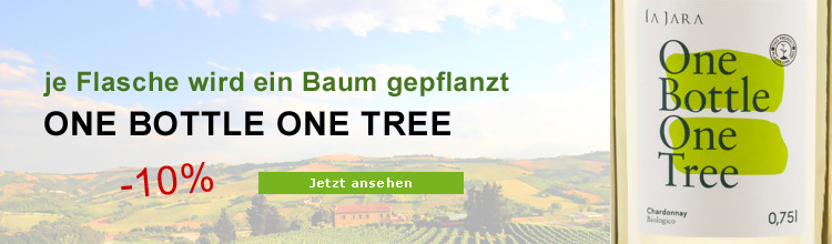 Biowein one bottle one tree Chardonnay