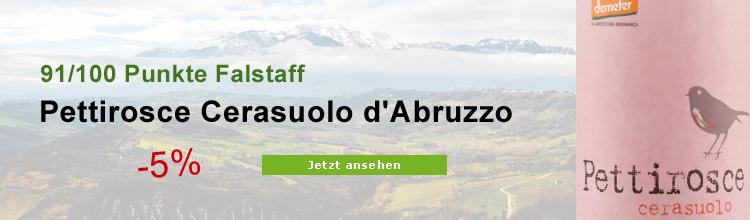 Biowein Cerasuolo d'Abruzzo Rosato Pettirosce