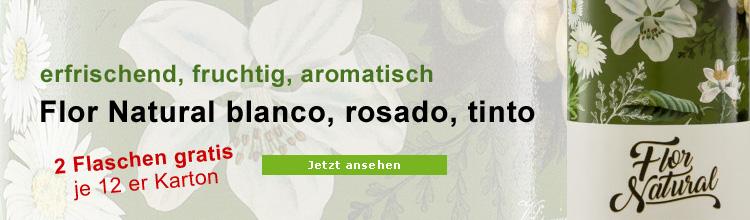 Flor Natural spanischer Biowein