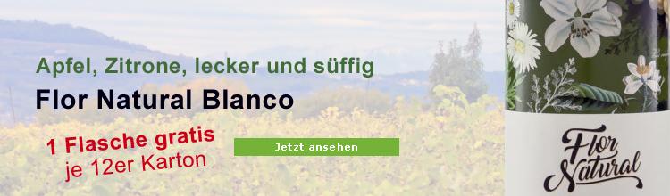 Flor Natural Blanco Biowein