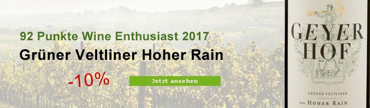 Grüner Veltliner Hoher Rain Biowein