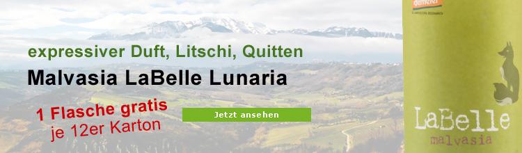 Malvasia LaBelle Lunaria Biowein