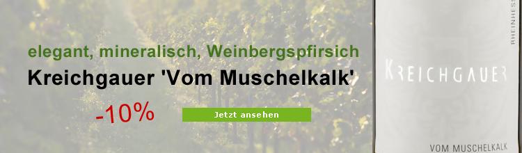Weißburgunder vom Muschelkalk Biowein